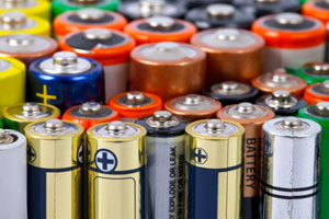 battery disposal - commercial battery recycling